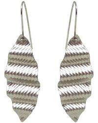 Emma Mogridge Jewellery - Medium Ripple Earrings - Lyst