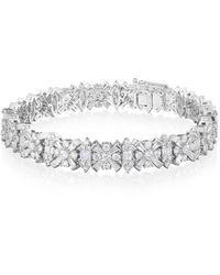 Ortaea Fine Jewellery 18kt White Gold Eternum Bracelet L