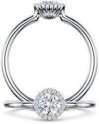 Andrew Geoghegan Cannele Bridal Diamond R - Multicolor