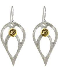 Sima Vaziry - Bloom Gold Earrings - Lyst
