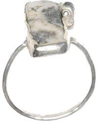 Rebecca Pratt Jewellery - Tree Agate Ring - Lyst