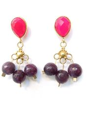 Radha - Royal Gala Earrings - Lyst