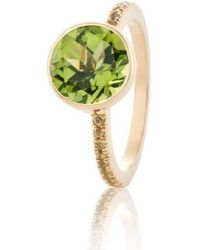 Biiju Peridot Jazz Ring - Multicolor