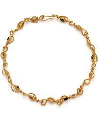 MAMM + MYRGH Goldsmiths - Twisted Sea Pod Necklace - Lyst