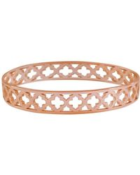 Murkani Jewellery - Moroccan Rose Gold Bangle - Lyst