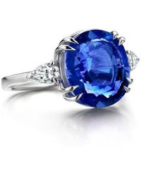 Baskania - Non Treated Ceylon Sapphire Ring - Lyst