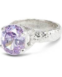 Paul Magen - Sterling Silver Lilac Alveus Ring - Lyst
