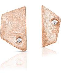 ENJI Studio Jewelry - Paloma Earrings In Rose Gold - Lyst