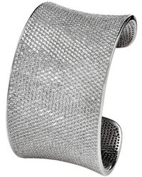 Lustre of London - White Lustre Cuff - Lyst