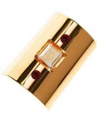 Augustine Jewels - Yellow Gold Cuff - Lyst