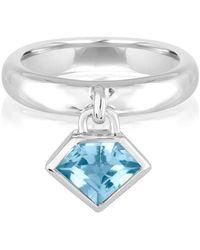Julie Lamb Metropolis Sky Blue Charmed Ring