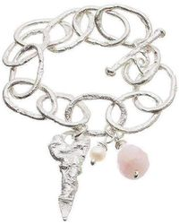 Kate Chell Jewellery - Melted Chain Bracelet - Lyst