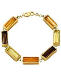 Sandy Leong - Luminous Linked Rectangle Bracelet - Lyst