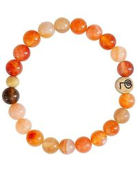 Lucy and Penny - Healing Carnelian Bangle - Lyst