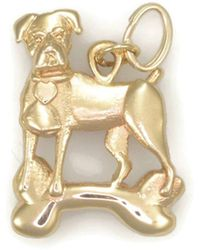 Donna Pizarro Designs - 14kt Yellow Gold Boxer Charm - Lyst