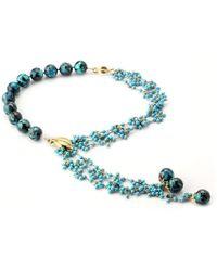 Elisa Ilana Jewelry - Chrysocolla & Turquoise Necklace - Lyst