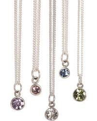 XISSJEWELLERY - Birthstone Necklace - Lyst