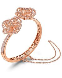 Fei Liu - Cascade Bangle In Rose Gold Vermeil - Lyst