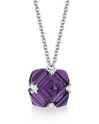 Paolo Costagli New York - Amethyst Very Pc Pendant Necklace, Petite - Lyst