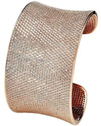 Lustre of London - Rose Lustre Cuff - Lyst