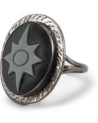 Vintouch Italy - Polaris Cameo Ring - Lyst
