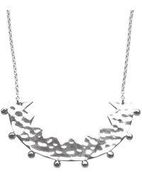 Murkani Jewellery Sterling Silver Frida Necklace - Metallic