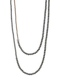 Faystone Vega Necklace - Natural