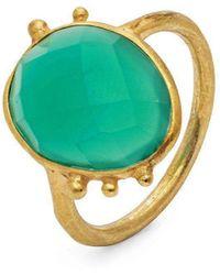 Donatella Balsamo Amazonia Green Ring