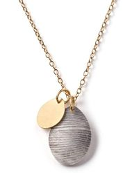 Diane Dorsey - Feathered Egg Necklace - Lyst