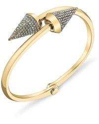 Borgioni Large Spike Handcuff - Metallic