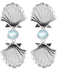 Isa Bagnoli - Double Mer Earrings - Lyst