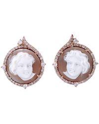Socheec - Marigold Stud Earring - Lyst