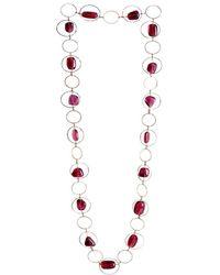 M's Gems by Mamta Valrani - Harmony Geometric Necklace With Cubic Zirconia - Lyst