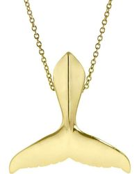 Alexander Jewell - Humpback Whale Tail Pendant - Large - Lyst