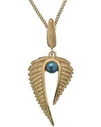 Patience Jewellery - Fern Pearl Necklace Vm - Lyst