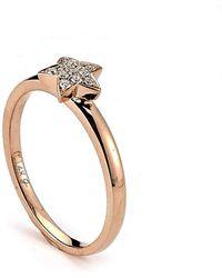 Samuel B. - 14kt Rose Gold Diamond Star Ring - Lyst