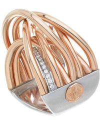 Franco Piane Designed By Franco Pianegonda Liaison Ring - Metallic