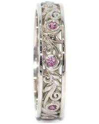 Custom Made By Irina - Leaf And Vine Ring - Lyst