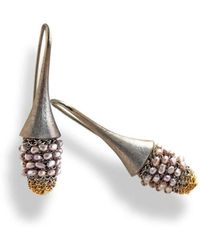 Tove Rygg   Shining Goddess Swan Earrings   Lyst