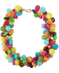 Katie Bartels Jewelry Maribelle Necklace - Blue
