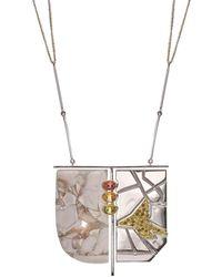 Nicofilimon Sky Town Necklace - Metallic