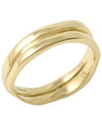 Corinne Hamak 18kt Yellow Gold Ring Ii - Metallic