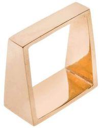 ANUKA Koti Gold Angle Ring - Metallic