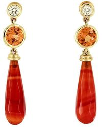 freeRange JEWELS - Fire Dance Earrings - Lyst