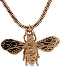 Will Bishop - Rose Gold Vermeil Honey Bee Necklace - Lyst