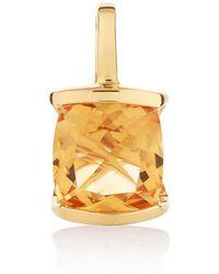 MANJA Jewellery - Juliet Gold Peridot Necklace - Lyst