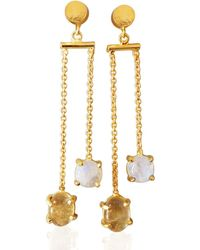 Bhagat Jewels - 18kt Yellow Gold Plated Ra - Lyst
