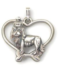 Donna Pizarro Designs - Sterling Silver Cavalier King Charles Necklace - Lyst