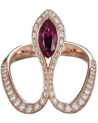 Baenteli - Royale Marquise Ruby Ring - Lyst