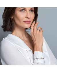 Carolin Stone Jewelry Sterling Silver Green Amethyst Lucid Bracelet - Multicolor